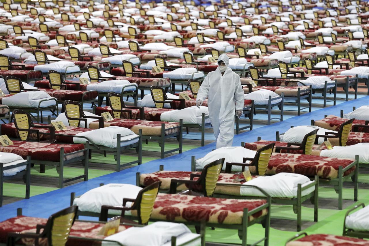 آمادگی نهادهای نظامی ایران برای اسکان بیماران در قرنطینه